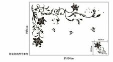 Wall Sticker Home Decor Flower Vine Butterfly Living Room Decal House Decoration