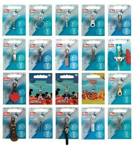 Prym Replacement Zip Puller / Zipper Pull - Choice of 49 Styles