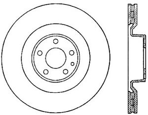 Disc Brake Rotor-Sport Drilled Disc Front Left Stoptech 128.33095L