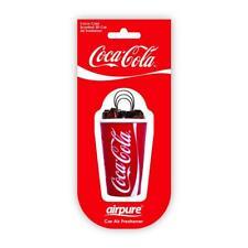 Airpure 3D Coca Cola Coke Car Air Freshener Airfreshener NEW ITEM!! UK