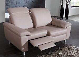 Dietsch Paolo Nero Cortina Relax Sofa 2er Sofa Zweisitzer Relaxsofa Bezug wählb.