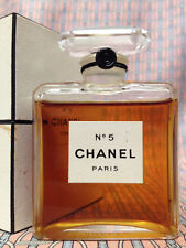 Vintage RARE 1940s ! Chanel No 5 LARGE 1 oz 28 ml Parfum Extrait SEALED with Dot