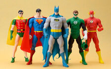 Kotobukiya DC Super Powers Figures + Wonder Woman, Aquaman, Hawkman - Set of 8