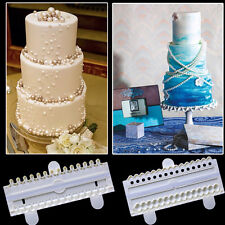Pearl Bead Fondant Cutter Mold Decorating Cake Gum Paste Sugarcraft Mould Tool