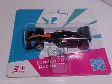 3 INCH Corgi Team GB F1 Racer 1/64 Diecast London Olympics 2012 TY62319 MOC
