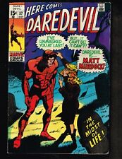 Daredevil #57 ~ Reveals Identity 'Midst of Life' ~ 1969 (7.0) Wh