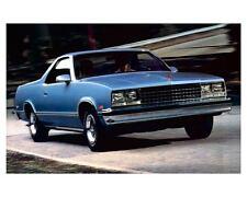 1987 Chevrolet El Camino Automobile Photo Poster zc3104-UI6BNU