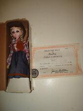 Liza, collectors doll by Bradley.