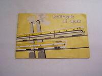 Railroads at Work vintage school booklet 8th ed 1960