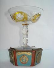 1940s SPORT SKI AWARD PRIZE TROPHY CUP CRYSTAL GLASS