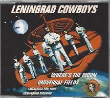LENINGRAD COWBOYS / WHERE'S THE MOON * NEW MAXI-CD * NEU *