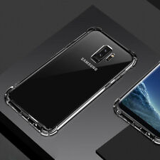 For Samsung Galaxy S9 Plus Ultra Thin Crystal Clear Shockproof TPU Bumper Case