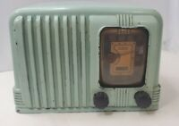 RCA VICTOR STANDARD BROADCAST Brown BAKER TUBE RADIO FOR PARTS/RESTORATION Ec