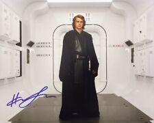 Hayden Christensen HAND SIGNED 10x8 Star Wars Photograph *In Person* COA Anakin