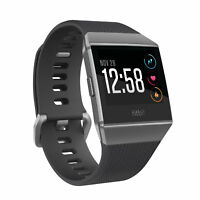 Fitbit Ionic Smartwatch Charcoal/Smoke Grey