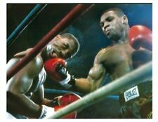 MIKE TYSON vs MARVIS FRAZIER 8X10 PHOTO BOXING PICTURE