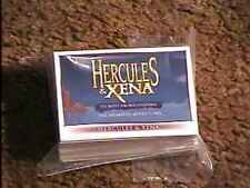 HERCULES AND XENA ANIMATED TRADING CARD SET RITTENHOUSE