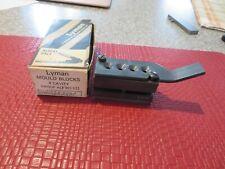 Lyman 252435 4 Cavity 25 Caliber Bullet Mold W/Box