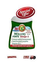 Moller's Forte Omega-3 60caps  *omega-3 fatty acids and vitamin D3*