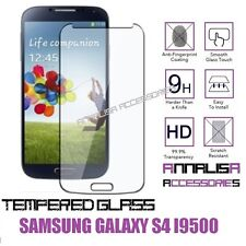 PELLICOLA IN VETRO TEMPERATO PER SAMSUNG GALAXY S4 i9500 TEMPERED GLASS DISPLAY
