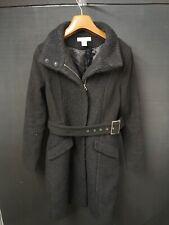 H&M Ladies Coat Black Size 34eu