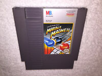 Marble Madness (Nintendo Entertainment System, 1989) NES Game Cartridge Vr Nice!