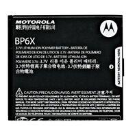 5x OEM Original Motorola BP6X BP-6X Battery SNN5843 SNN5843A Lithium Replacement