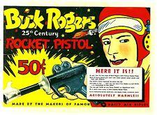 Daisy Buck Rogers in the 25th Century XZ-31 Rocket Pistol 1934 Ad Reprint