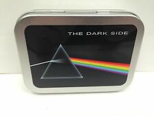 Pink Floyd, Rock  Music, Dark side Cigarette Tobacco Storage 2oz Hinged Tin