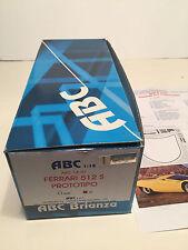 1/18 ABC Brianza ABC 18.07 Ferrari 512 S 512S Prototipo Kit