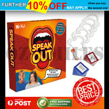 Speak Out Board Family Party Game Mouthguard Challenge Xmas Toy Kid Gift