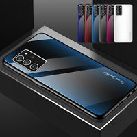 For Samsung Galaxy S21 Ultra S20 FE 5G Case Luxury Shockproof Hybrid Glass Cover
