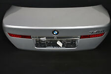 BMW 7er E65 Boot Lid Rear Flap Boot Lid + Lights Grey