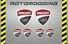 Pegatinas logotipo ducati vinilos adhesivos stickers decals autocollant calcas