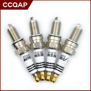 4 Iridium IX Spark Plug DCPR7EIX 3144 For Suzuki Cappucino 0.7 EA11 91-95 Harley