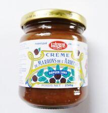 Maronen Creme Eßkastanien Brotaufstrich Cremes de Marrons  500g Glas Frankreich