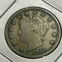 1911 LIBERTY NICKEL FULL LIBERTY