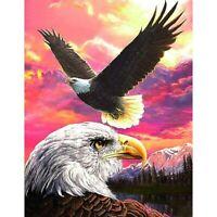 5D Full Drill DIY Diamond Painting Eagles Embroidery Cross Stitch Kits Art Craft