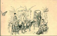 Gravure ancienne 1885 préparation en cuisine issue du livre