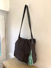 ORLA KIELY @ Autograph Large Brown 💯Sheepskin Reversible Crossbody Shoulder Bag