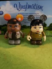 "Disney Vinylmation 3"" Park Set Star Wars Force Awakens Lot Finn and Rose"