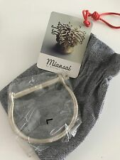 Miansai Sterling Silver Screw Bracelet, Brand New, brushed finish