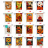 Halloween Garden Flags Double Sided Outdoor Holidays Decorative Lawn Yard Flags