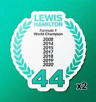 LEWIS HAMILTON #44 Car Sticker V11 Formula One F1 Window Decal Sign Gift Idea