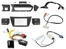 MASCHERINA KIT AUTORADIO MONITOR GPS DOPPIO 2 DIN MERCEDES CLASSE C 2012 W204