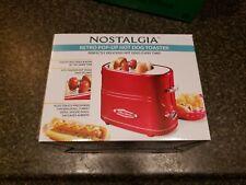 Nostalgia Retro Pop-Up Hot Dog and Bun Toaster