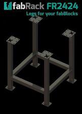 """CertiFlat FR2424 24""""X24"""" FabRack CNC Laser Tube Leg Kit for FabBlocks Heavy-Duty"""