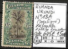 [841572] TB||**/Mnh || - Ruanda-Urundi 1915 - N° 18, surcharge 'URUNDI' 1 petite