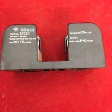 Gould Fuse block holder, part #20321, 250 volt, 30 amp