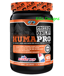 * HUMAPRO by ALR INDUSTRIES * AMINO ACID PROTEIN POWDER 334G - 45 SERVINGS